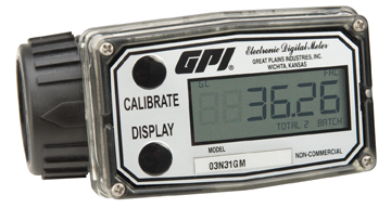Inline Digital turbine flow meter