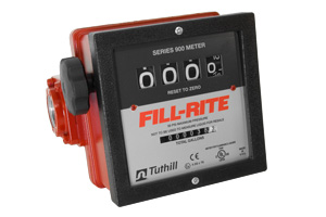 Fill-Rite Mechanical Fuel Flow Meter :: 4-wheel, 23-151 LPM