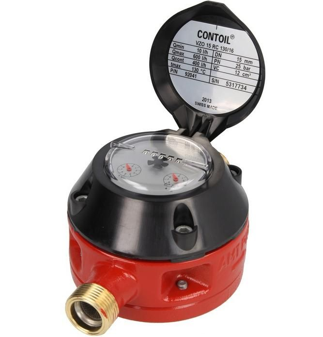 3 4 Electronic Oil Meters : Aquametro vzoa mechanical oil meter max