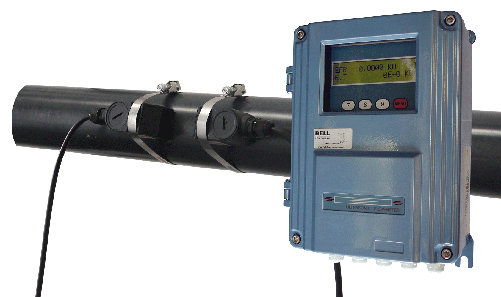 BFU-100-F Fixed Non-intrusive Flow Meter Assembly :: Clamp ...