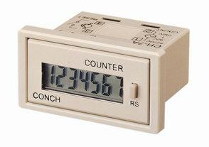 4 yr Battery Powered Remote LCD Counter - Panel Mount