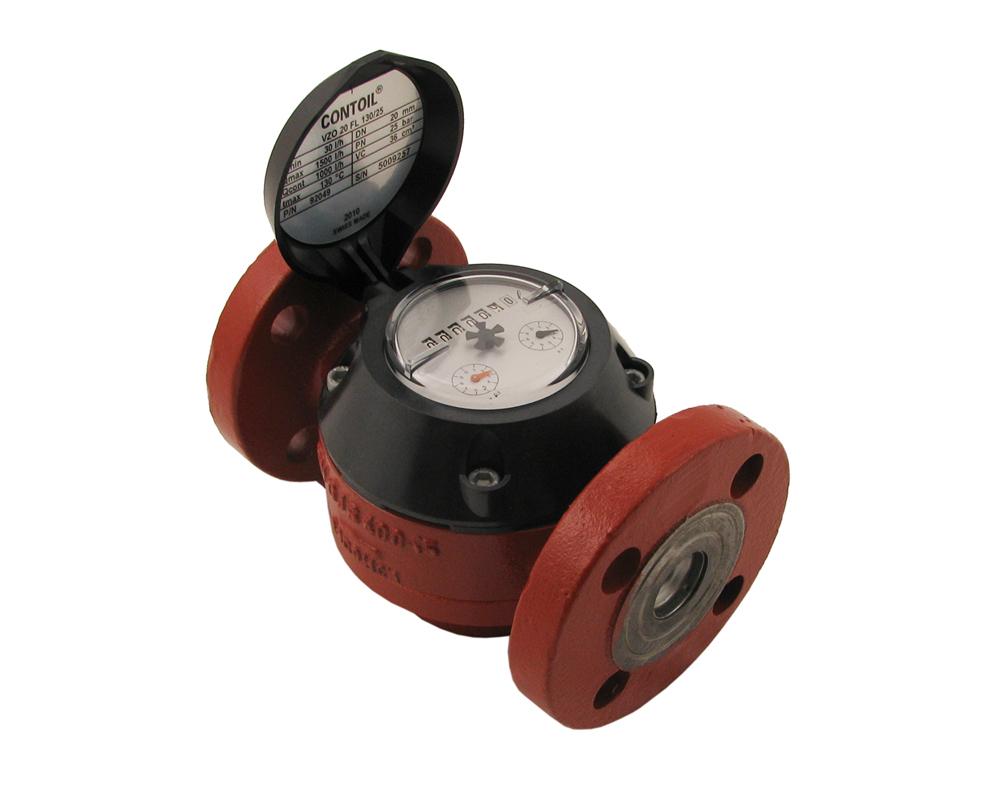 3 4 Electronic Oil Meters : Vzo ring piston type aquametro oil flow meter