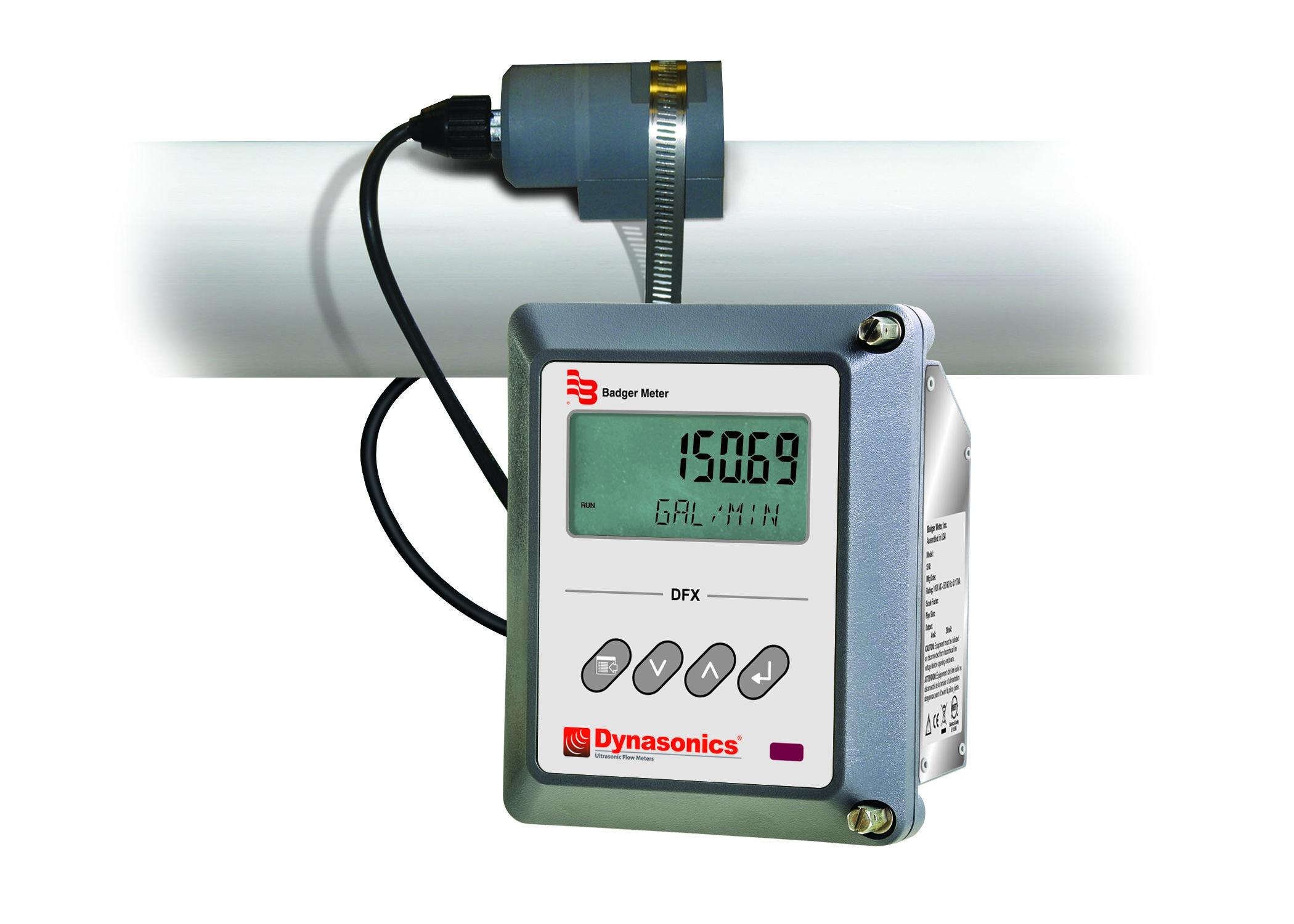 Dynasonics Dfx Clamp On Ultrasonic Doppler Flow Meter