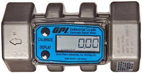 High Pressure Inline Digital turbine flow meter