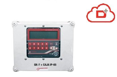GK-7Plus Consumption Controller :: IP65 Enclosure 60 / 130 / 1000 User