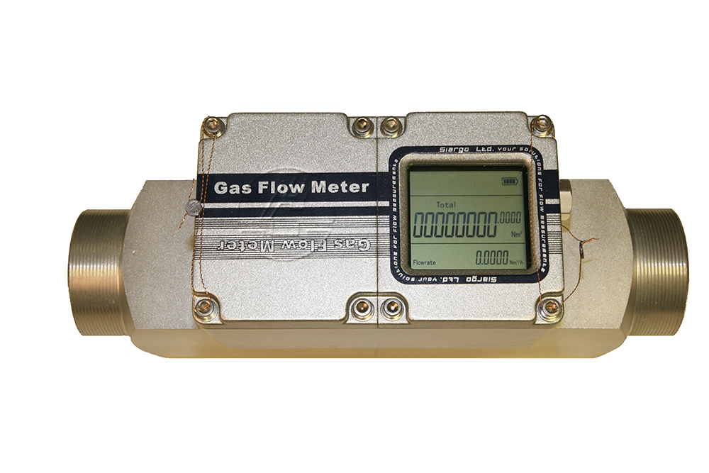 digital gas flow meter dn32 25 nm3 hr 1 1 4. Black Bedroom Furniture Sets. Home Design Ideas