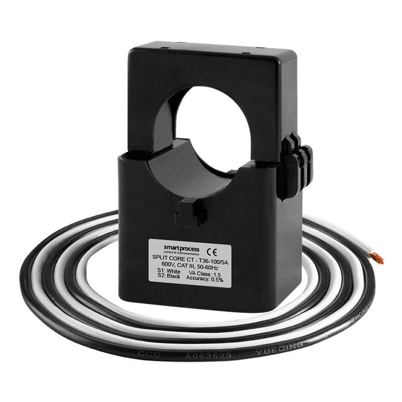 sct36 single phase split core current transformer    100