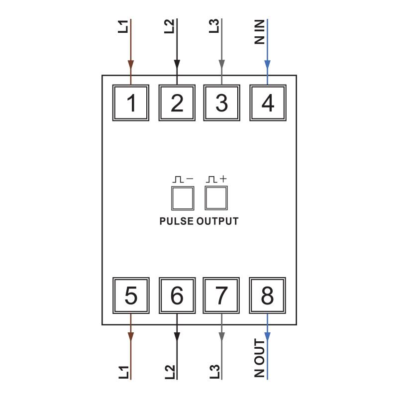 DIAGRAM Wiring Diagram Kwh Meter 3 Phase Digital FULL