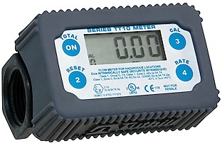 "1"" Digital AdBlue & Water turbine meter, +/- 1% accuracy"