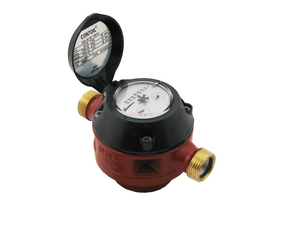 3 4 Electronic Oil Meters : Vzo aquametro oil meter max litre hr