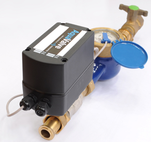 Aqualink II Valve Combined : Battery powered actuated ball valve and WiFi datalogger