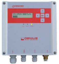 Genius Oil Tank Level Indicator :: Max Tank height 4 Metres