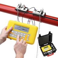 Portable Ultrasonic Flow meter PF330 :: Transit Time NB 13-5000mm