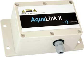 Aqualink II Wi-Fi Data logger/alarm :: Battery powered with 2 x digital inputs, IP68 Enclosure