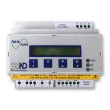 RAIL 350 :: DIN Rail mount electricity meter
