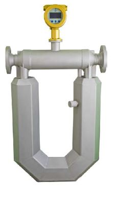 Coriolis Flow Meter 200mm, Stainless Steel Construction, LCD Display, Pulse, 4-20mA, RS485 Outputs