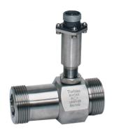 Liquid Flow Turbine Meter:: 15mm ID, Range 10 - 100 l/min