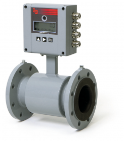 MID6 Battery Powered Electromagnetic Flow Meter :: DN100