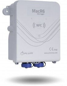 MacR6 N Water Flow and Pressure GSM Data Logger