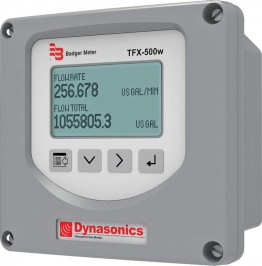 Dynasonics® TFX-500w Transit-Time Ultrasonic Flow Meter :: Adjustable Pipe Size