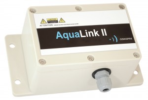 Aqualink II GPRS/GSM Data logger/alarm :: Battery powered with Optional digital and Analogue inputs / outputs