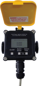 AgriMagP2 Plastic Mag Flow Meter 25mm :: No Moving Parts, 9-35V DC Powered LCD, Data Logger, RS485, 4-20mA Output