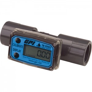 "Economical Inline Digital turbine flow meter 1"" NPT"