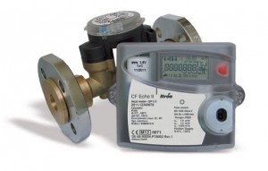 "CF ECHO II Ultrasonic Heat Meter Assembly DN25 :: Qp 3.5 (includes 1"" Reducing Connections)"