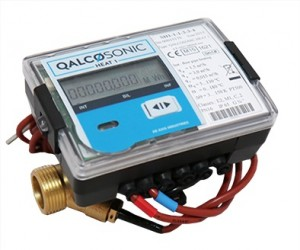 "Qalcosonic Heat 1 Ultrasonic Heat Meter Assembly DN40 : 1 1/2"" Qp 10 MID Class 2 Approved"