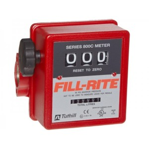 "Fill-Rite 807CL 1"" Flow meter with pulse option"