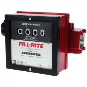 "Fill-Rite 901.5AL 1.5"" fuel flow meter with pulse option"