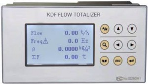 KDF Mass Flow Steam Display 230V AC : Pressure & Temp sensors included