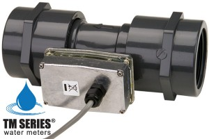 "Economical Inline turbine flow meter 2"" BSP - Pulse Output"