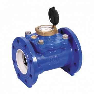 DN50 Arad WSTsb Woltmann Helix Water Meter (Cold) Dry Dial Flanged PN16 :: WRAS Approved, MID certified