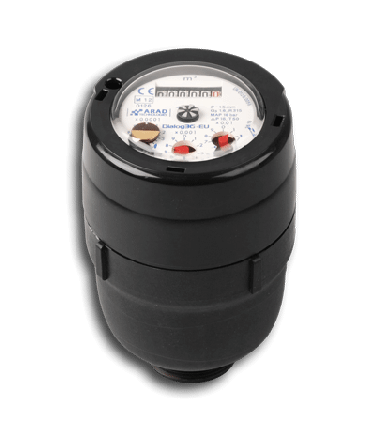 DN15 Arad Gladiator Concentric Volumetric Water Meter (Cold) Dry Dial Composite