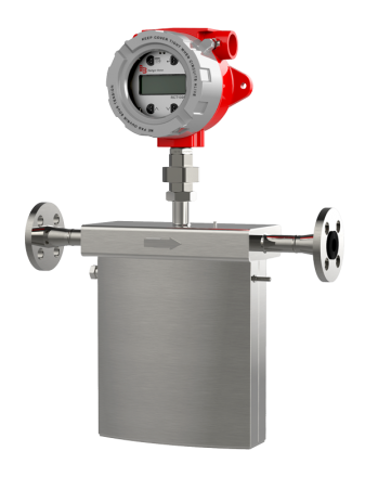 "RCS Coriolis Mass Flow Meter, Integral Mount :: 1/2"", 0-1088 kg/hr"