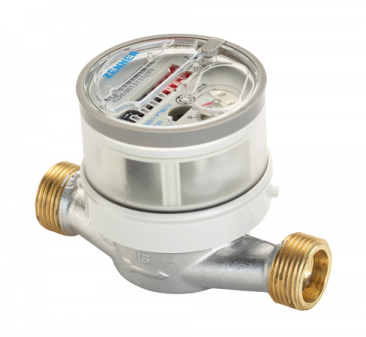 Single-Jet domestic Hot Water Meter DN15 :: 90