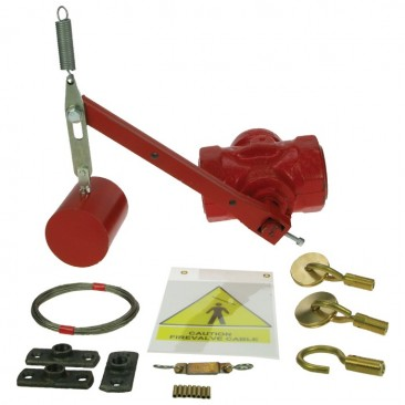 "3/4"" Flanged Free fall firevalve kit"