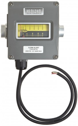 "Hedland VA Flow meter for Oil and Petroleum: 1 1/2"" BSP, Stainless Steel"