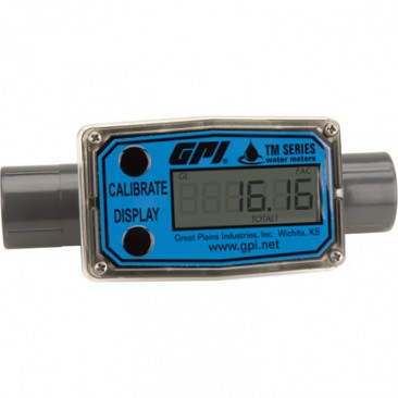 Economical Inline Digital turbine flow meter