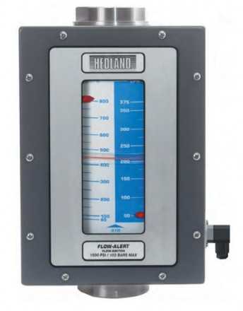 "Hedland VA Flow meter for Air & Compressed Gases: 1 1/2"" BSP, Aluminium"