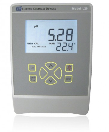 ECD L20 bench top pH/ORP/Temperature Instrument