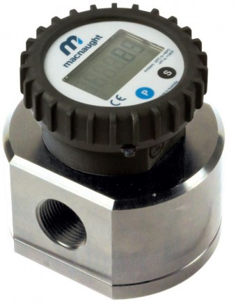 "MX19P Industrial Flow Meter :: 3/4"" Ports, 3 - 80 L/Min, 138bar (2000psi)"