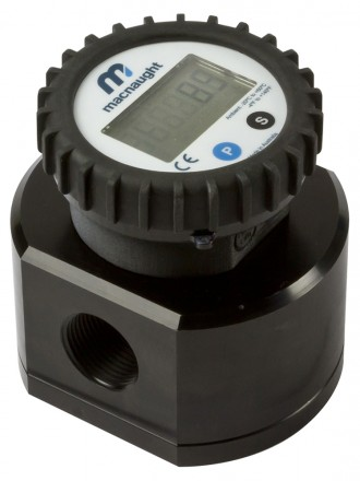 "MX06F Fuel and Oil Flow Meter :: 1/4"" Ports, 0.5 - 100L/Hr, 69bar (1000psi)"