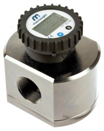 "MX40P Industrial Flow Meter :: 1 1/2"" Ports, 10 - 250 L/Min, 83bar (1200psi)"