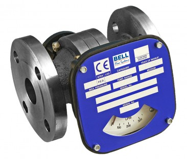 "2 1/2"" Flanged Flow Monitor/Switch - Cast Iron (Nickel Plated)"