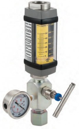 "Hedland VA Flow meter for Oil and Petroleum: 3/4"" BSP, Stainless Steel"