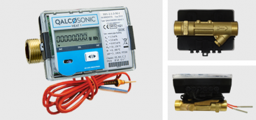Qalcosonic Heat 1 Ultrasonic Heat Meter Assembly DN50 : Qp 15 MID Class 2 Approved