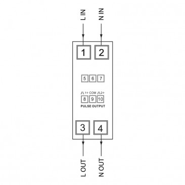 Meter Base Wiring To Breaker Box additionally How To Wire 3 Phase Kwh Meter 2 in addition Introduction On Energy Meter Different Types Of Energy Meters furthermore Three Phase Power besides Electrical Meter Man. on kwh meter wiring diagram