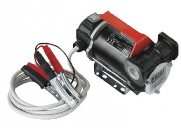 Piusi Bypass 3000 12v Diesel Pump :: 2m power cable with clips, In-line ports